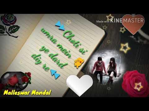 Beimaan piya re song _Hindi song _ Romantic song _ whatapp's video