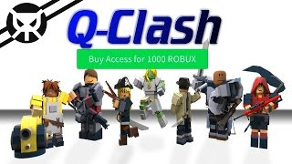 IS THIS GAME WORTH THE ROBUX?! ▼ Q-CLASH ROBLOX ▼ Review