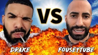 FOUSEY vs DRAKE | Before They Were Famous Versus | July 15