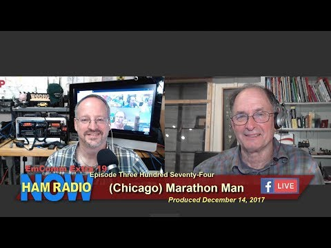 HRN 374: (Chicago) Marathon Man on Ham Radio Now