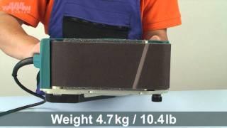 Makita 9404 Belt Sander - W444w Eng
