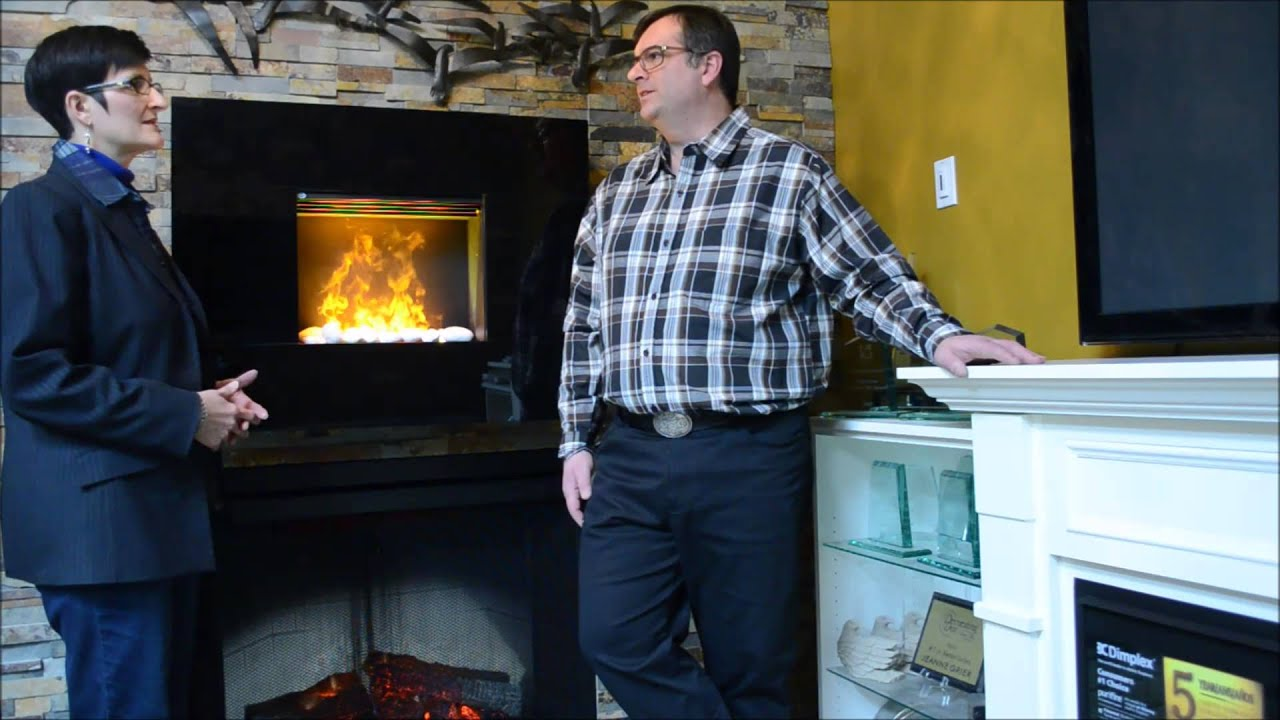 comparing electric and gas fireplaces youtube