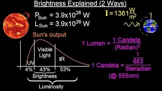 Astronomy - Ch. 17: The Nature of Stars (12 of 37) Brightness Explained (2 Ways)