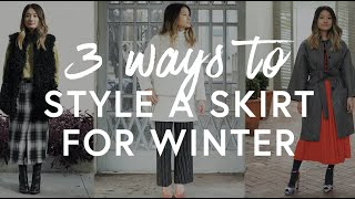 Download 3 Ways To Style A Skirt For Winter | The Zoe Report By Rachel Zoe Mp3 and Videos