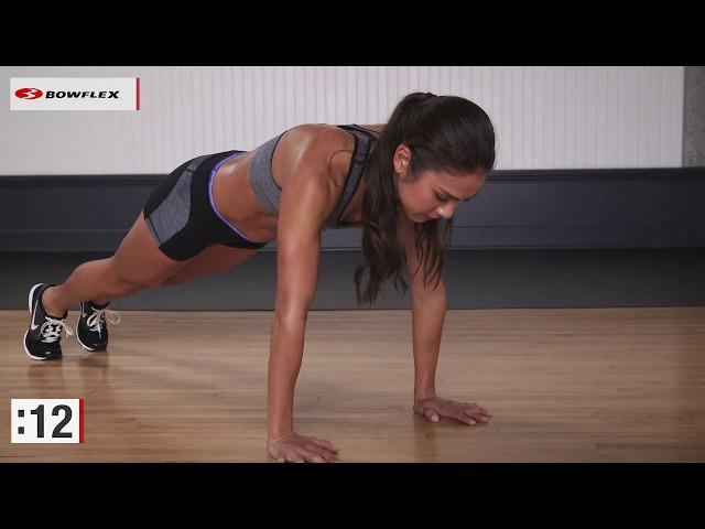 Bowflex® Bodyweight Workout | Six-Minute HIIT & Ab Workout