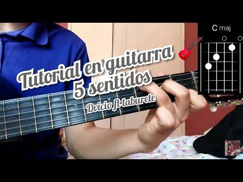 5 Sentidos Dvicio Ft Taburete Cover Y Como Tocar La Canción En Guitarra 🎸