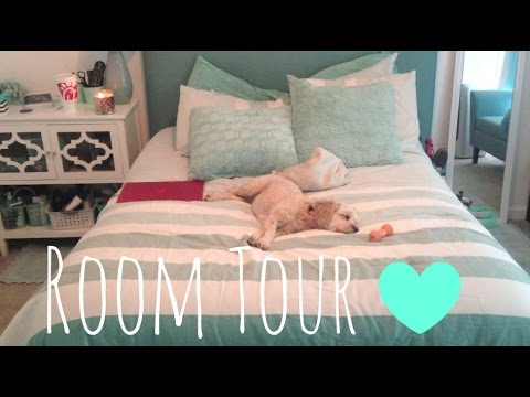 Room Tour 2015// Holly Alexis. [Teal/Green Theme]