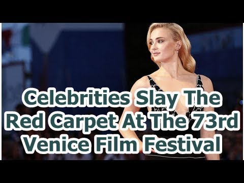 Celebrities Slay The Red Carpet At The 73rd Venice Film Festival