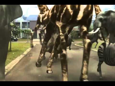 Fxguru Jumanji Animals Attack Doovi
