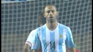 Argentina 6 Paraguay 1 (Relato Rodolfo de Paoli)  Copa America 2015