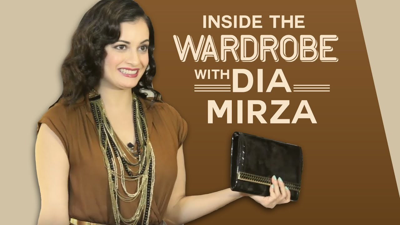 Inside the wardrobe with Dia Mirza - One dress 5 ways | S01E05 | Pinkvilla | Bollywood | Fashion