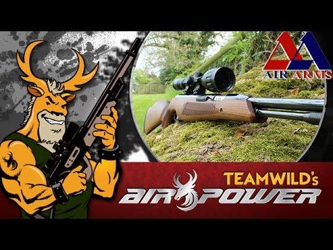 Air Gun Shooting & Review - Air Arms TX200