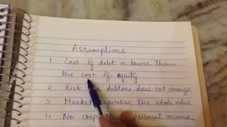 Net Operating Income Approach, Capital Structure,Business Finance