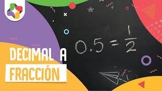 Pasar de decimal a fracción. - Aritmética - Educatina