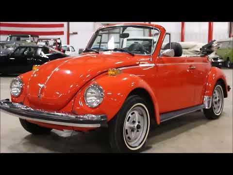 1979 Volkswagen Beetle Red orange