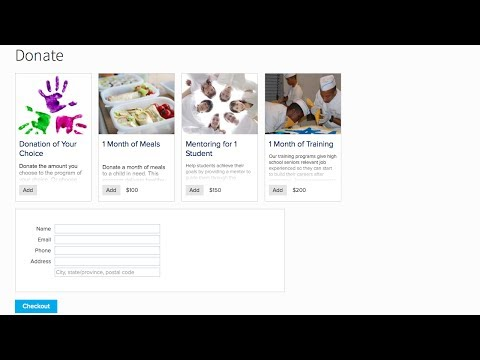 Collecting Donation on Your Membership Website