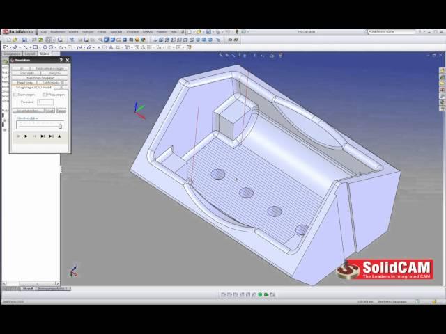 HSS - Einfache Flächenbearbeitung