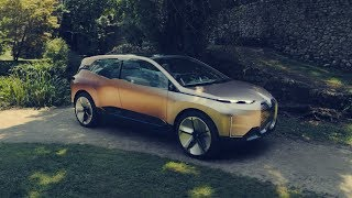 Driving Scenes with the new BMW iNEXT