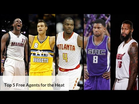 Realistic Top 5 Options for Heat in 2017 Free Agency