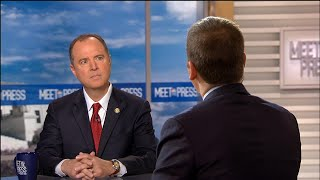 Full Schiff: 'Facts for recusal are very strong here' for acting Attorney General | Meet The Press thumbnail