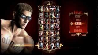 видео Mortal Kombat: Armageddon (K.A.F) - Streets of Rage 3 Characters - Gameplay