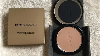 Faces Canada Compact Powder Sand with Spf 20 Best Compact for Summers Itsarpitatime