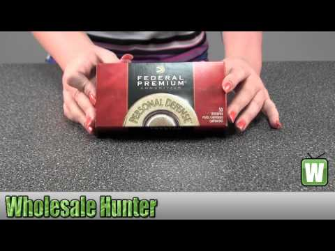 Federal Cartridge 357 Sig 125Gr JHP Per 20 P357S1 Ammunition Shooting Gaming Hunting Unboxing