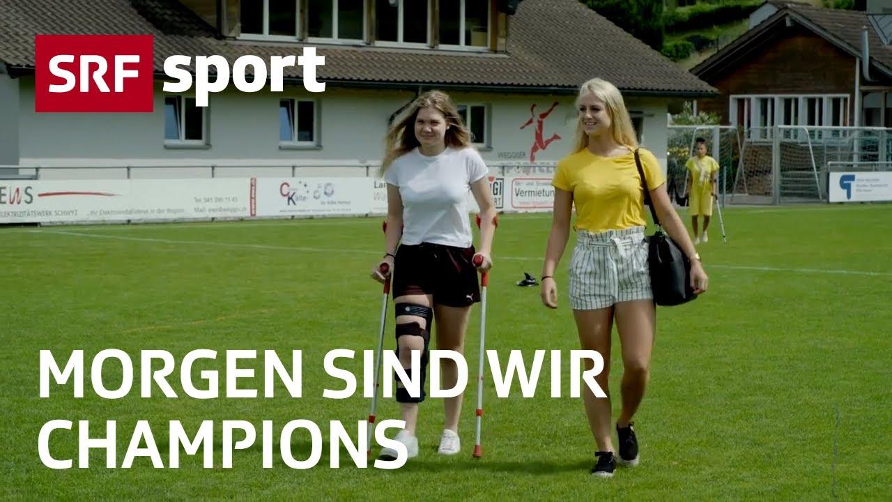 Schweizer Fussball Nachwuchs Verteidigerin Julia Schassberger