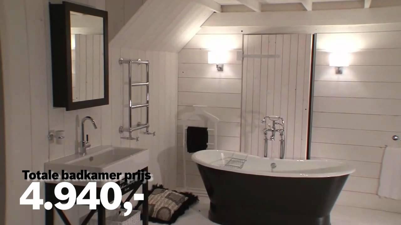 Van Heck Badkamer Badkamervoorbeelden - YouTube