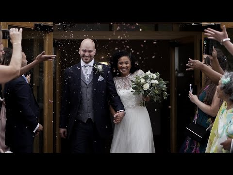 Rustic Barn, Outdoor Summer Wedding Film - The Barn at Alswick by Angie and Matt Films