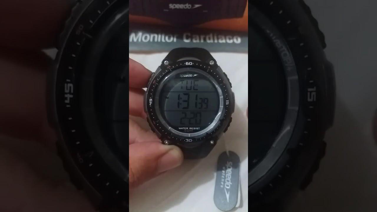 excursionismo evolución pavo  Configurando seu Monitor Cardíaco Speedo - YouTube