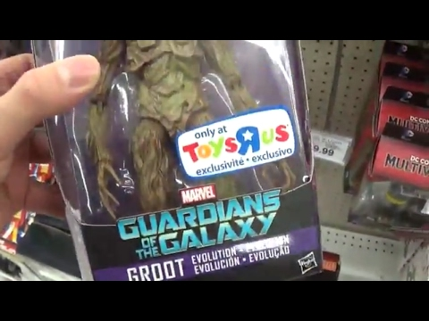 I FOUND THE MARVEL LEGENDS GROOT!