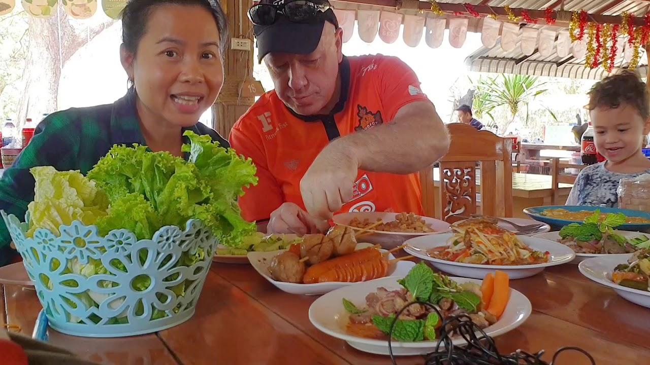 กินข้าวร้านอาหารอีสานที่ขอนแก่น เที่ยวสวนสัตว์ขอนแก่น Eat Out & Khon Kaen Zoo