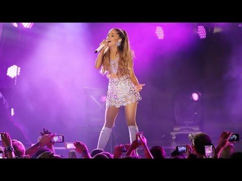 Ariana Grande & Nicki Minaj Performance NBA All...