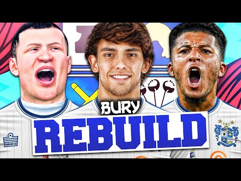 REBUILDING BURY FC!!! FIFA 20 Career Mode