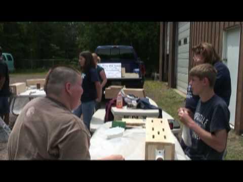 Zaagkii Project Butterfly Houses: Keweenaw Bay Indian Community, U.S. Forest Service