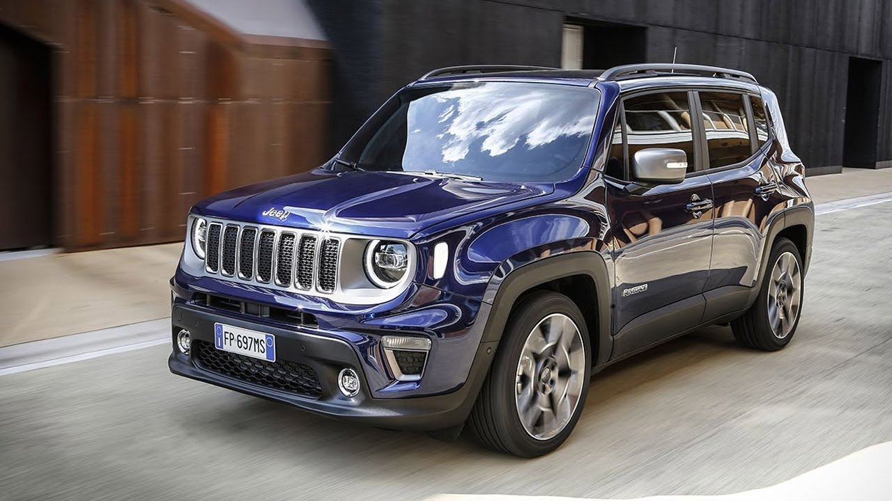 2019 Jeep Renegade Limited Exterior Interior Driving Scenes