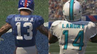 ODELL BECKHAM JR VS JARVIS LANDRY!! WATCH TILL END!! MADDEN 16 PVP #27