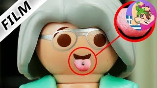 Playmobil ταινία ελληνικά επεισόδια: Η γιαγιά θέλει να γίνει μοντέρνα με σκουλαρίκι στη γλώσσα!