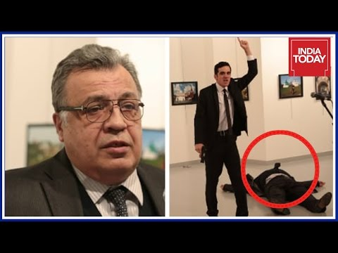 Russian Envoy Andrey Karlov Shot Dead By Turkish Cop