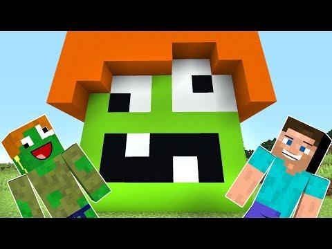 ZOMBİK VE STEVE AVA ÇIKIYOR - Minecraft
