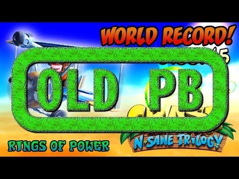 [Former World Record] Rings of Power (0:55:45) Platinum Relic - Crash Bandicoot N. Sane Trilogy