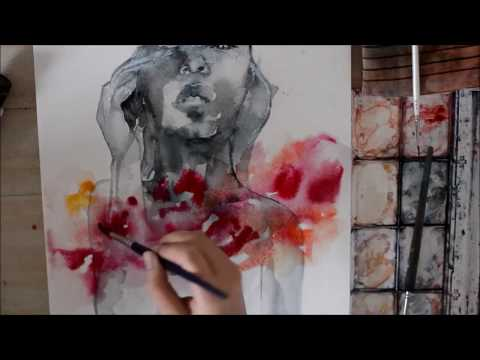 Speed Up Watercolor Painting – Come Back To The World