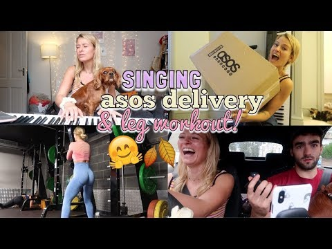 SINGING, UNBOX MY ASOS DELIVERY W ME & INTENSE BOOTY WORKOUT thumbnail