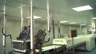 видео чистые производственные помещения