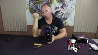 Replacing Battery APC UPS RS-550 BR550GI Back-Ups & Powerware 5115