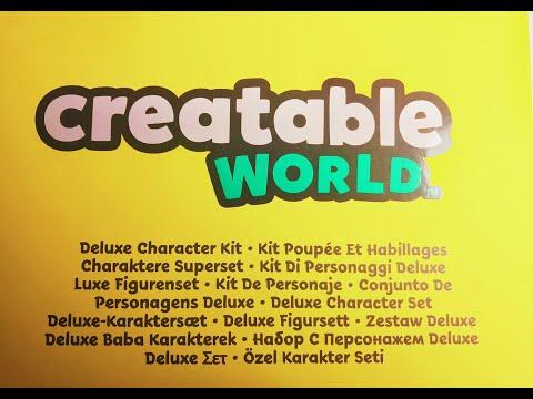 НОВИНКА!!! Creatable World - гендерно нейтральные куклы от Mattel 2019