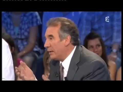 François Bayrou - On n'est pas couché 25 juin 2011 #ONPC