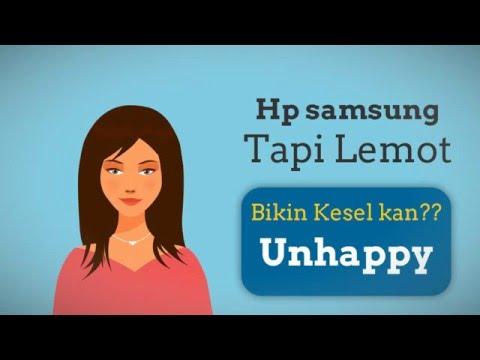 Tips HP samsung agar tidak lemot saat dipakai