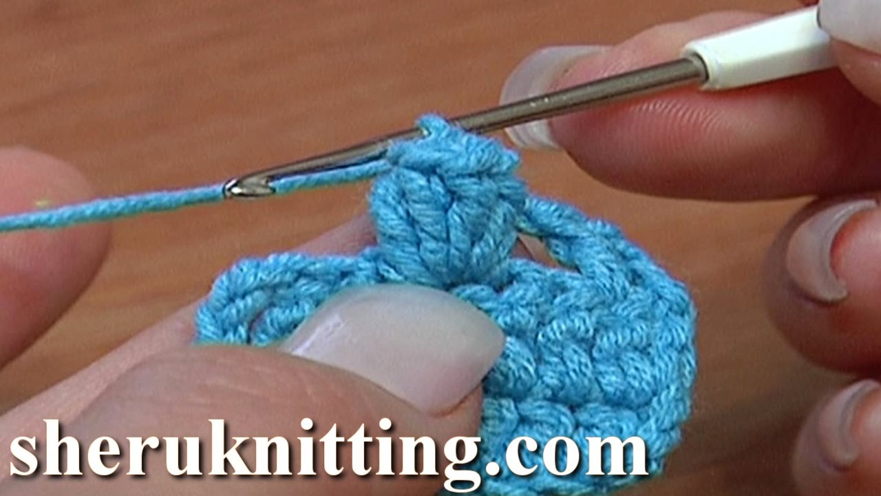 2a5b8dba17e Crochet Popcorn Stitch Tutorial 11 Part 1 of 5 Ways to Crochet Popcorn  Stitch